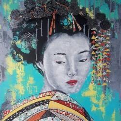 Portraits de Geishas