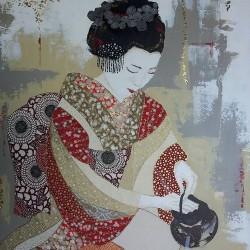 Scènes de vie d'une Geisha